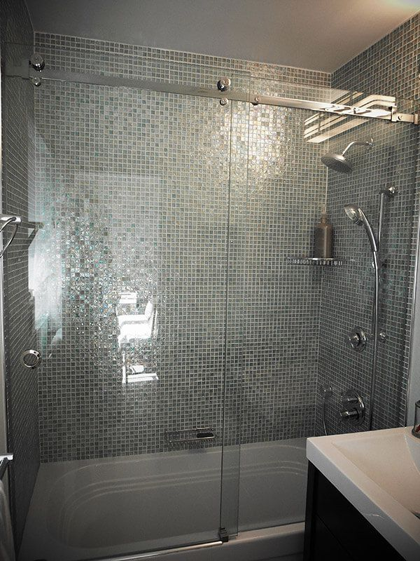 ... Frameless Single Sliding Shower Doors ...