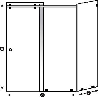 Sebastian Layout 2 The Original Frameless Shower Doors