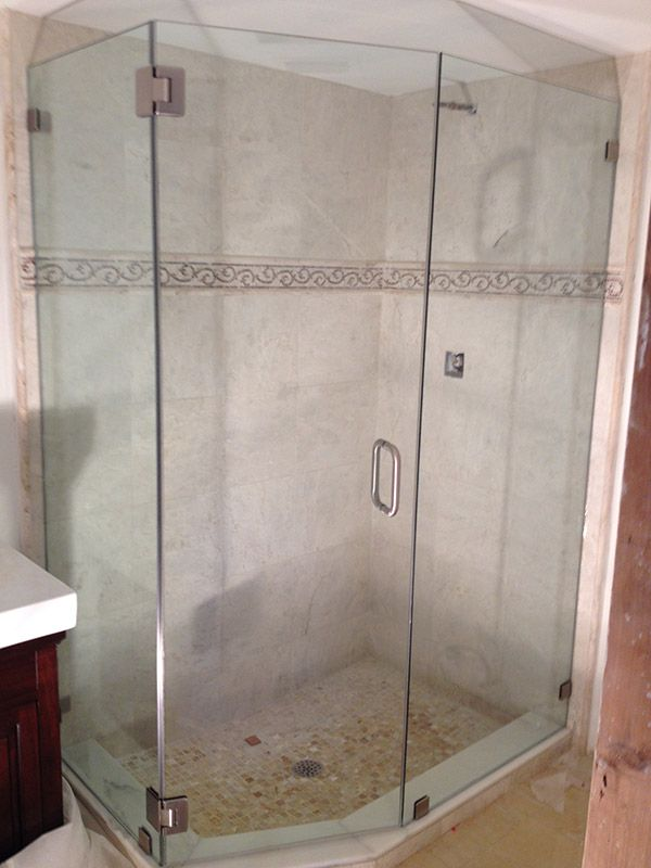 The Original Frameless Shower Door Gallery