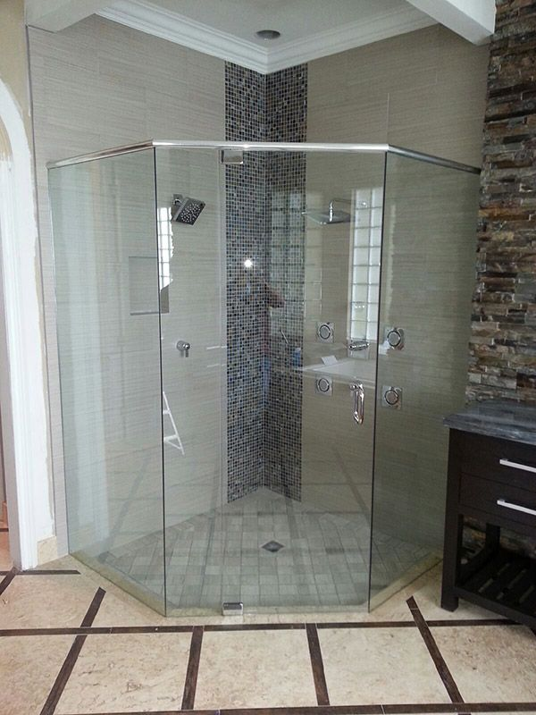 The Original Frameless Shower Door Gallery